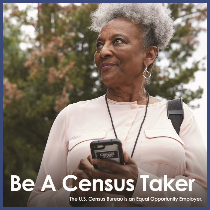 Census taker graphic Opens in new window